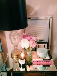nightstand decor | House Ideas | Pinterest