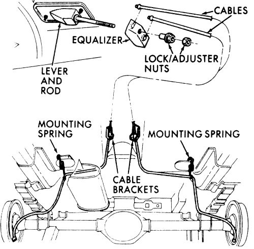 willys jeep rear brake diagram