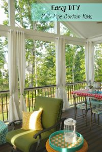 17+ best ideas about Outdoor Curtain Rods on Pinterest ...