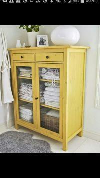 Hemnes linen cabinet | bathroom | Pinterest | Linen ...