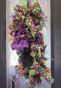 25+ best ideas about Halloween door wreaths on Pinterest ...