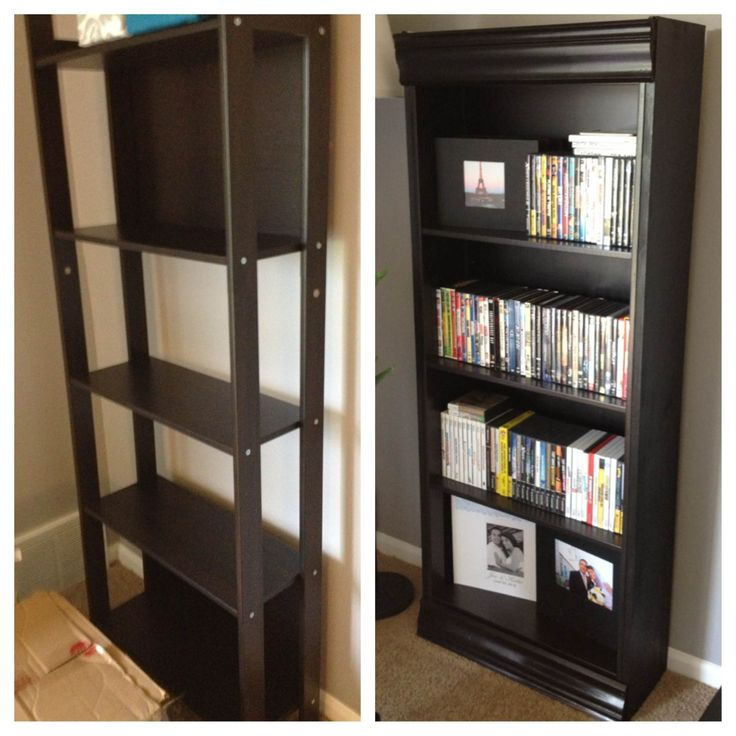 Ikea Laiva Ikea Hack: I Started With The Laiva Bookcase ($25), Added