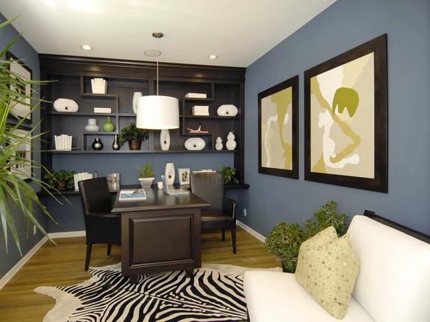 78+ Ideas About Home Office Colors On Pinterest | Navy Office