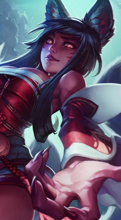 Cute Fox Girl Wallpaper Games Hd Widescreen Wallpapers League Of Legends Ahri