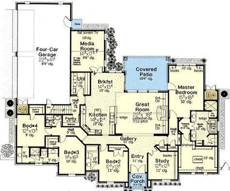 Carolinian II Bungalow Floor Plan TightLines Designs Ansley I - bungalow floor plans