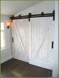 25+ best ideas about Barn door closet on Pinterest ...