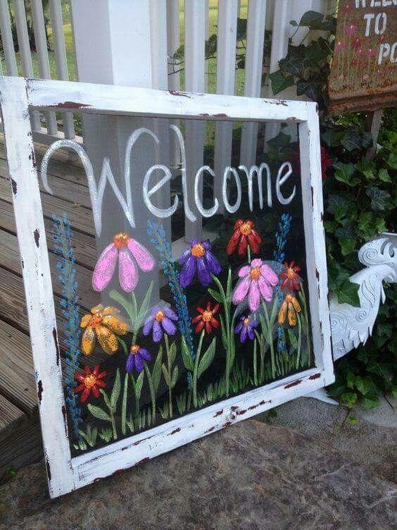 1000+ Ideas About Painting On Glass On Pinterest | Wine Glass