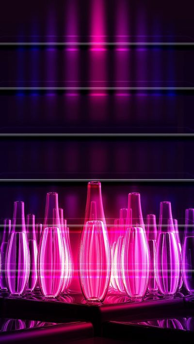 NEON IPHONE WALLPAPER BACKGROUND | artwork & wallpapers | Pinterest | Abstract art, Neon and Shelves