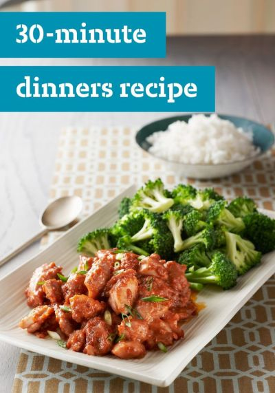 30-Minute Recipes – The name says it all! Get these recipes on the table in 30 minutes or less ...