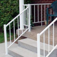 House Front Steps   Aluminum Porch and Deck Railing ...