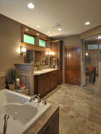 Bathroom Rustic Lake House Bathroom Colors Design ...