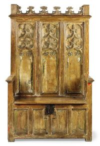 Throne chair | Gothic and medieval furniture | Pinterest ...