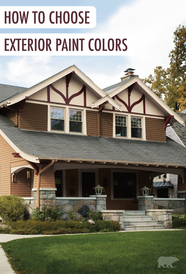 How To Choose Exterior Paint Colors For Your House The Outside Of Your Home Is The Best Place To Make A First