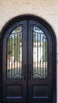 56 best images about Doors by Design - Iron Doors on ...