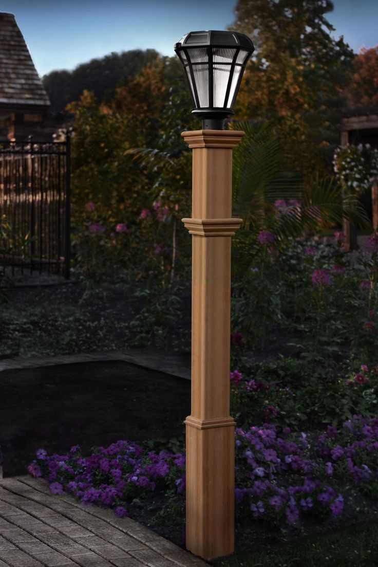 Find this pin and more on lamp post ideas