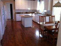 Glossy Dark Hardwood Floors Brown Dark Wood Floors Teak ...