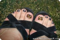 Best 25+ Halloween Toe Nails ideas on Pinterest ...