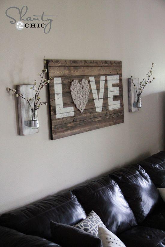 17+ Ideas About Diy Wall Decor On Pinterest | Frames Ideas, Diy