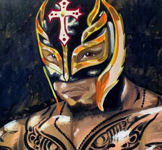 Crazy Cute Wallpapers Rey Mysterio By Tony Menchaca Wwe Wwe Fan Art And Signs