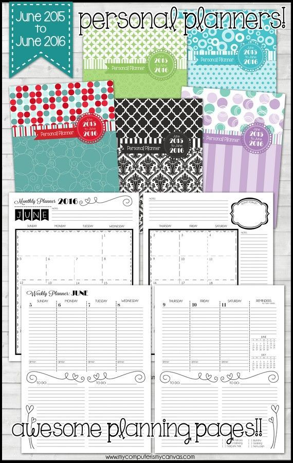 2015 monthly printable calendars