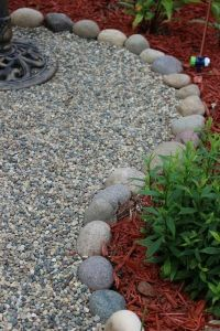 Best 25+ Pebble garden ideas on Pinterest