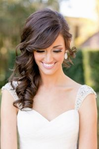 Best 25+ Wedding Hairstyles For Long Hair To The Side With ...