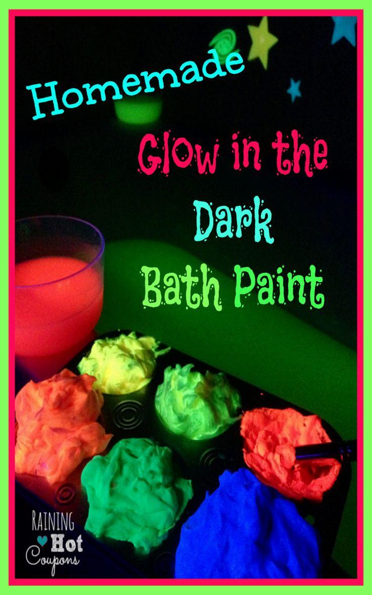 Homemade Glow In The Dark Bath Paint -- data-recalc-dims=