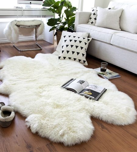 Faux Fur Rug Ikea 25+ Best Ideas About Sheepskin Rug On Pinterest | White