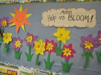Mother's Day Bulletin Board See the rest of the post for ...