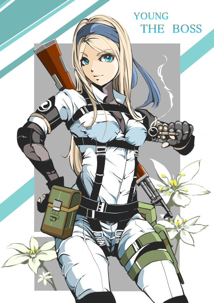 Army Pin Up Girl Wallpaper Anime Picture 728x1032 With Metal Gear Solid Metal Gear