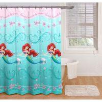 Disney Princess Ariel Little Mermaid Shower Curtain ...