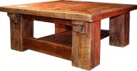 Rustic Hand Sawn Cabin Coffee table by RedemptionWoods on ...