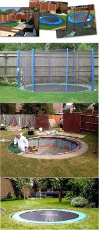 15 must-see Garden Trampoline Pins | Diy swimming pool ...