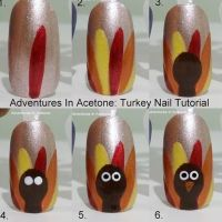 17 Best ideas about Thanksgiving Nail Art on Pinterest ...