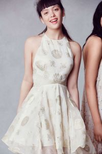 Kimchi Blue Calypso Fit + Flare Mini Dress | Urban ...