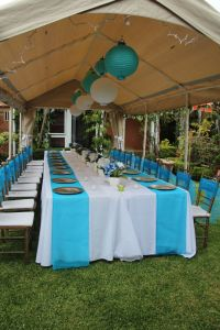 cheap baby shower chair decorating ideas | Outdoor party ...