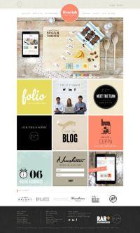 14 best Square Web Design Inspiration images on Pinterest