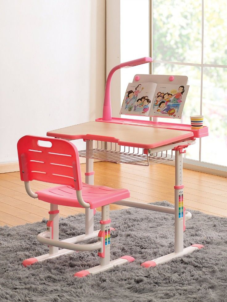 Childrens Desk Chair Kids Desk Chair Height Adjustable Children Study Desk