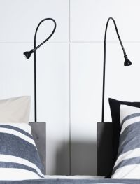JANSJ LED floor/read lamp, black | Floor lamps, LED and ...