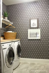 1000+ ideas about Laundry Room Wallpaper on Pinterest ...
