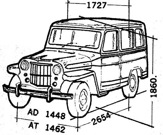 1965 willys jeep station wagon