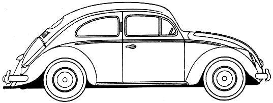 Schaltplang for 1972 vw super beetle