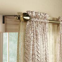 Awesome Bay Window Double Curtain Rod : Bay Window Double ...