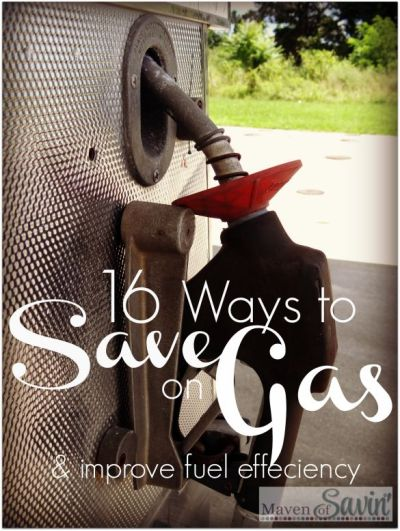 16 Ways to Save Gas Money and Improve Fuel efficiency You will be amazed how easily YOU can ...