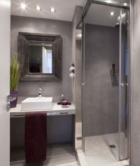 17 Best ideas about Small Grey Bathrooms on Pinterest