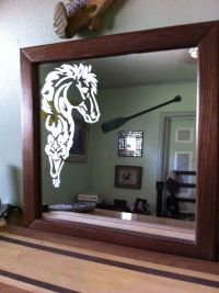 Related Keywords & Suggestions for horse etched mirrors