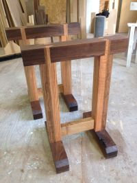 Adjustable Sawhorse Table Legs - WoodWorking Projects & Plans