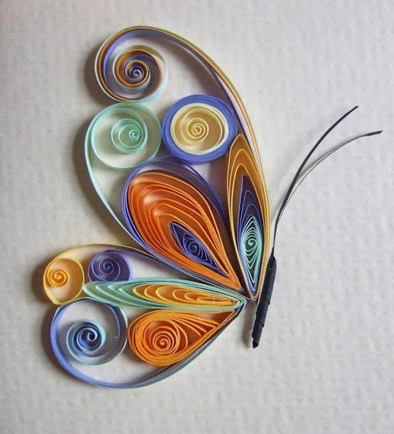 Tuto Quilling Papillon 17 Best Images About Quilling - Butterflies On Pinterest