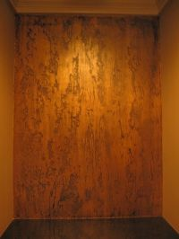 Pictures of Textured Painted Walls with copper glaze ...