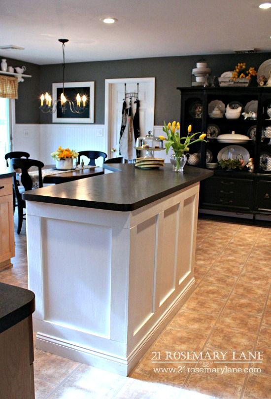 How To Remodel A Kitchen Island 17 Best Ideas About Kitchen Island Makeover On Pinterest